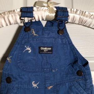 Oshkosh baby overall shorts